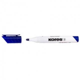 Маркер для досок KORES синий 3 мм круглый наконечник 20833