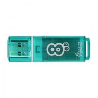 Флеш-память Smartbuy 8GB Glossy series Green