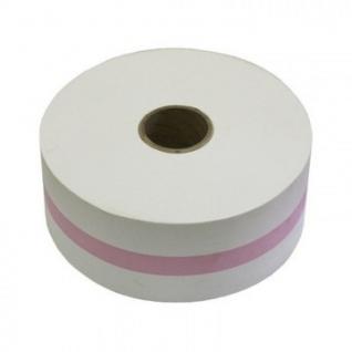 Лента бандерольная для автомат. упаков. монет 112 мм фиолетовая,бобина 300м