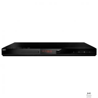 Bbk BBK DVP036S черный DVD-плеер, HDMI, аудио стерео, USB Type A
