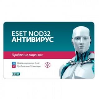 Антивирус ESET(NOD32-ENA-2012RN(CARD)-1-1) 3ПК/1г или продл20 мес (Card)