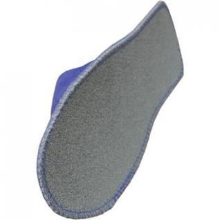 Тапочки одноразовые Стандарт спанбонд подошва ППЭ 4 мм. 150пар синий