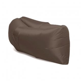 Надувной диван - гамак lamzac hangout шоколадный