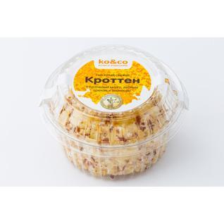 ТМ KO&CO Сыр мягкий из козьего молока Кроттен с кусочками манго, лесными орехами и ананасом 130гр