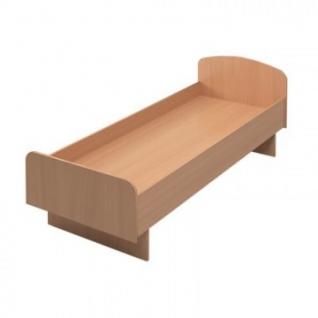 Мебель для общежитийMon_Для Общежитий кровать КР04.10 (84х190) бук