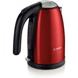 Чайник Bosch TWK7804 2200 Вт 1,7 л нерж. сталь красны