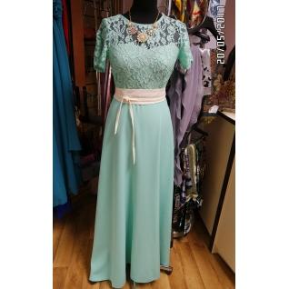 Длинное платье 46 размер