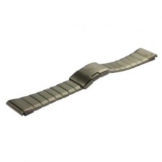 Ремешок Garmin стальной, цвет серый