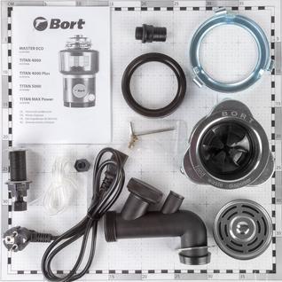 Измельчитель пищевых отходов Bort TITAN 4000 Plus (91275776)