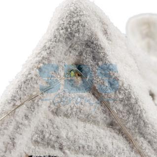 Neon-Night Керамическая фигурка «Домик со снеговиком» 26.2х9.5х23.3 см