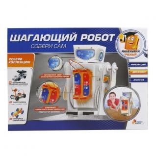 """Опыты """"Играем Вместе"""": Шагающий Робот На Бат. В Русс."""