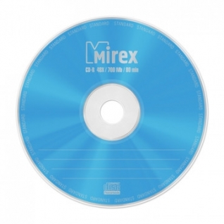 Носители информации Mirex CD-R STANDARD 48x bulk 50 (UL120051A8T)