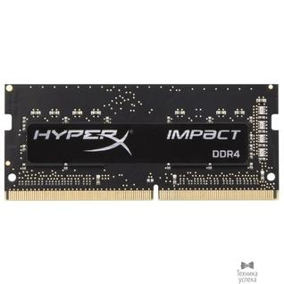 Kingston Kingston DDR4 SODIMM 8GB HX424S14IB2/8 PC4-19200, 2400MHz, CL14, HyperX Impact Series