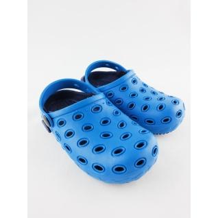 610-1 кроксы синие для мальчика.дюна 24-29 (29) Дюна