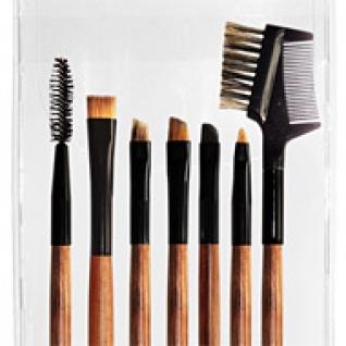 Профессиональные кисти для макияжа - Набор JEANS из 7 кистей для макияжа глаз 7-01