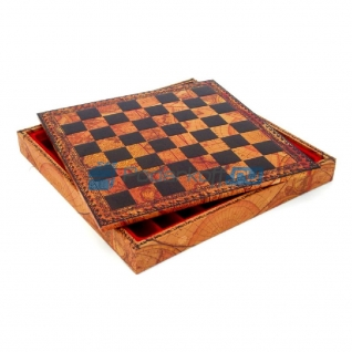Шахматная доска Древняя карта