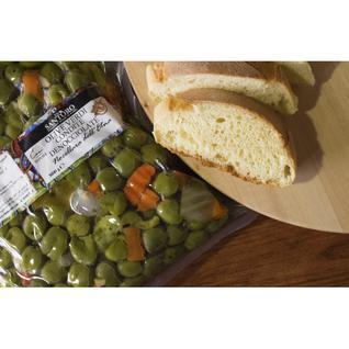 SANTORO Дробленые зеленые оливки с приправами и овощами ''Santoro'' 3100 ml