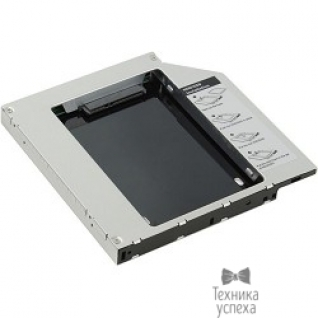 """AgeStar AgeStar SSMR2S Сменный бокс для HDD/SSD SATA-SATA, металл-пластик, черный, 2.5"""""""