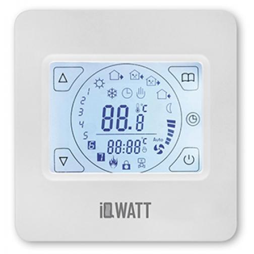 IQWATT IQ THERMOSTAT TS – Программируемый сенсорный терморегулятор 6763749