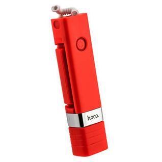 """Монопод для селфи HOCO K3A Beauty Lightning Interface Selfie stick (0.65 м) 3.5""""-7"""" Red Красный"""