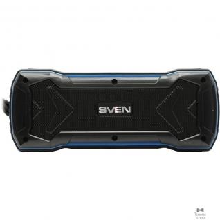 Sven SVEN PS-220, черный-синий SV-016470 (10 Вт, Bluetooth, USB, microSD, FM-тюнер)