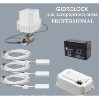 """Комплект для установки загородный дом - 3 GIDROLOCK PROFESSIONAL - """"BL"""""""