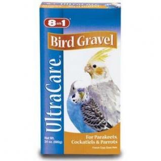 8in1 8in1 гравий для заполнения зоба птиц Bird Gravel для корелл, волнистых и др. попугаев 680 г