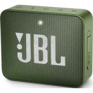 Акустическая система JBL Go 2 зелёная (JBLGO2GRN)