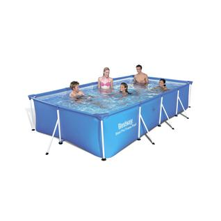 Bestway Каркасный прямоугольный бассейн Bestway 56405, 400х211х81 см