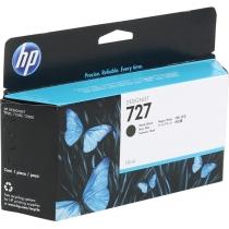 Оригинальный картридж B3P22A №727 для принтеров HP Designjet T1500/T2500/T920, чёрный матовый, струйный, 130 мл 8631-01 Hewlett-Packard