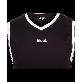 Майка баскетбольная Jögel Jbt-1020-061, черный/белый, детская размер YXS