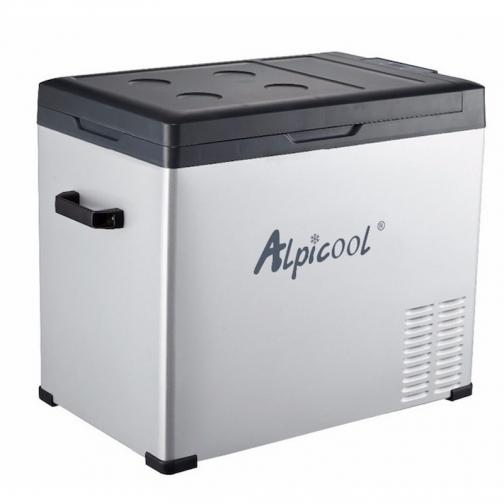 Kомпрессорный автохолодильник ALPICOOL C50 черный (50л, 12/24/220В) 36995008 4