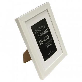 Рамка пластиковая с паспарту Gloria White 15x20 37328