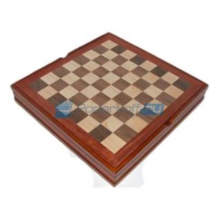 Шахматная доска с контейнером