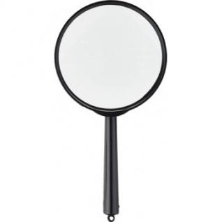 Лупа Attache, увеличение х5, диаметр 80мм, цв.черный, карт/кор.