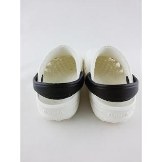 610-01М1 кроксы бело/черный дюна.27-34 (32) Дюна