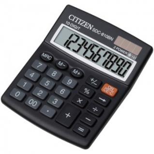 Калькулятор настольный КОМПАКТНЫЙ CITIZEN бухг. SDC810BN 10 разрядов DP