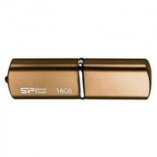 Флеш-память Silicon Power Luxmini 720 16GB bronze