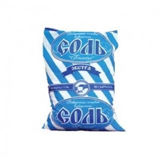 Соль Полесье Экстра мелкий помол 1 кг