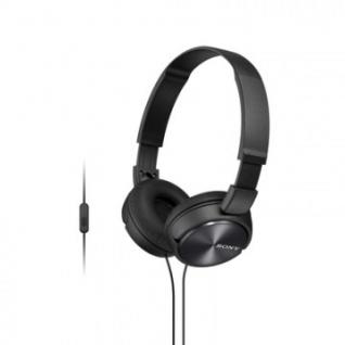 Наушники Sony MDR-ZX310AP черный гарнитурой для смартфонов