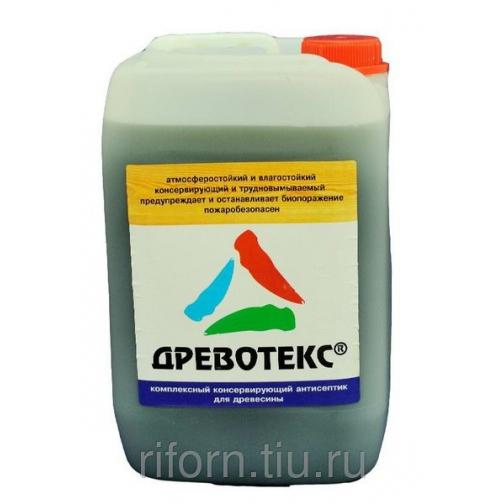 «Древотекс» — антисептик-пропитка для дерева 8992