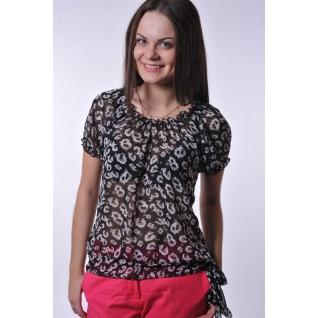 Шифоновая блуза 46 размер