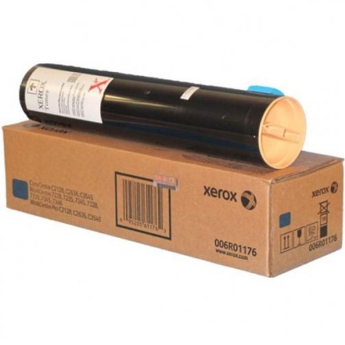 Картридж Xerox 006R01176 для Xerox WorkCentre 7228, 7235, 7245, 7328, 7335, 7345, WorkCentre Pro C2128, C2636, C3545, оригинальный, (голубой, 16000 стр.) 1130-01 852218