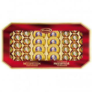 Набор конфет Mirabell Mozart из мол.шок.с начинкой из прал. и марцип., 600г