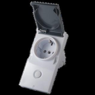 Модуль-выключатель в розетку Z-Wave.Me Plug-in Switch IP44 ZMR_PLUG_IP44