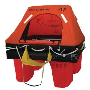 Waypoint Спасательный плот в контейнере Waypoint Commercial 6 человек 72 x 51 x 24 см
