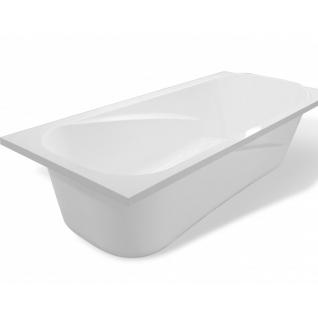 Отдельно стоящая ванна Эстет Альфа 180x80 белая