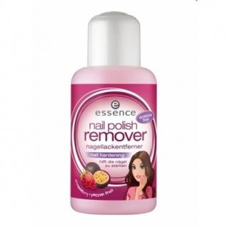 ESSENCE - Жидкость для снятия лака укрепляющая Strawberry & Passion fruit,