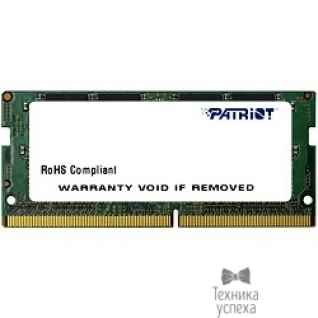 Patriot Patriot DDR4 SODIMM 8GB PSD48G213381S (PC4-17000, 2133MHz, 1.2V)