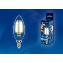 Uniel LED-C35-6W/WW/E14/CL PLS02WH картон